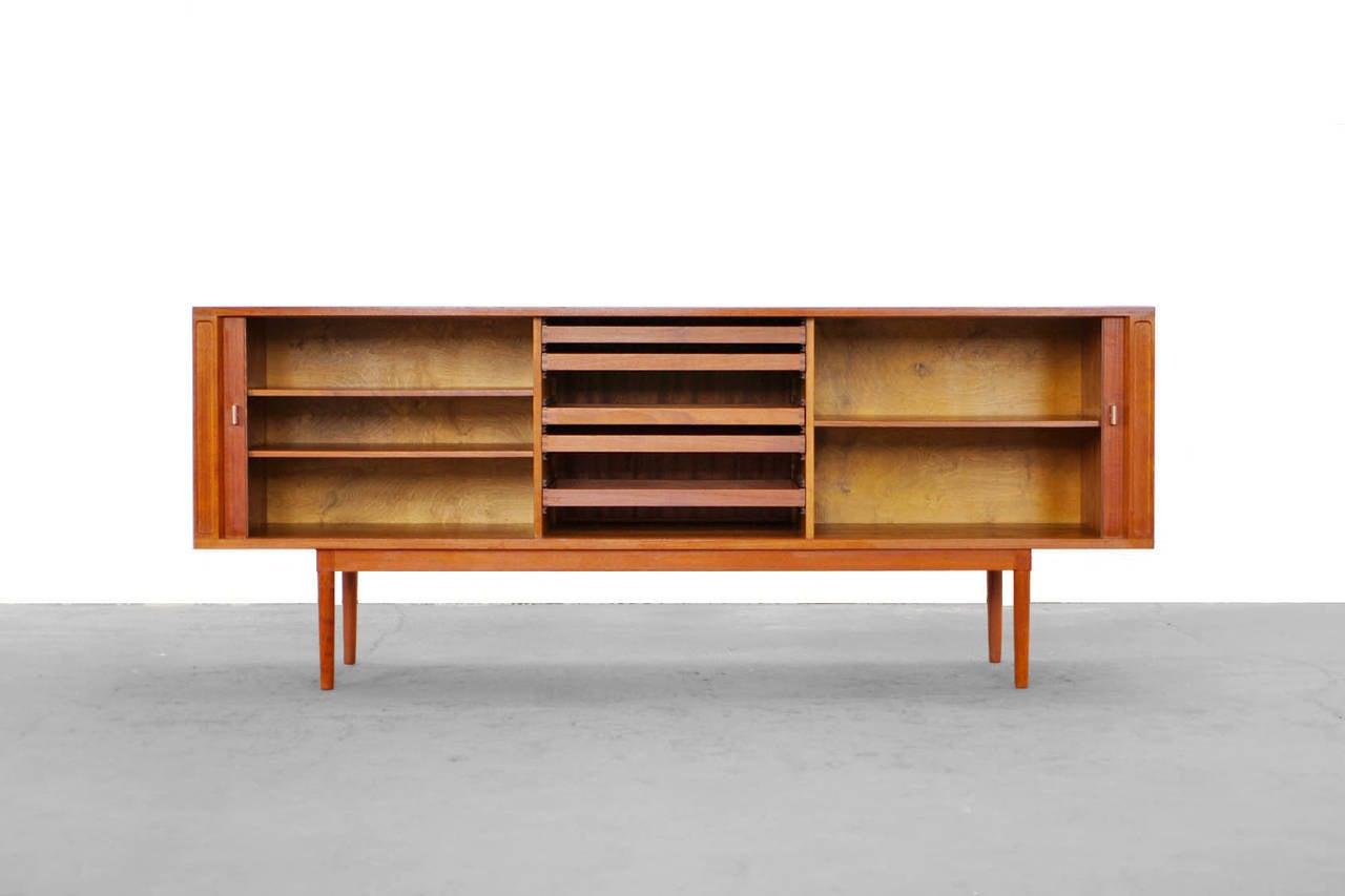 Teak sideboard by jens harald quistgaard denmark at 1stdibs for Sideboard 40er