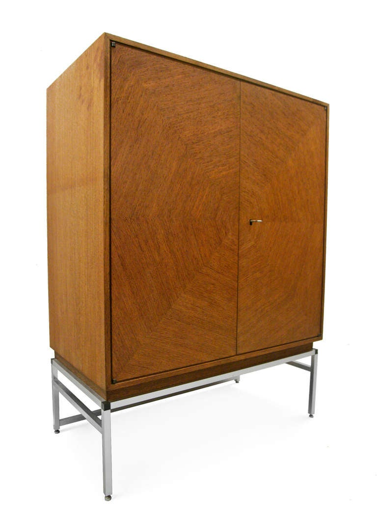highboard midcentury modern spider web design 1960s at 1stdibs. Black Bedroom Furniture Sets. Home Design Ideas