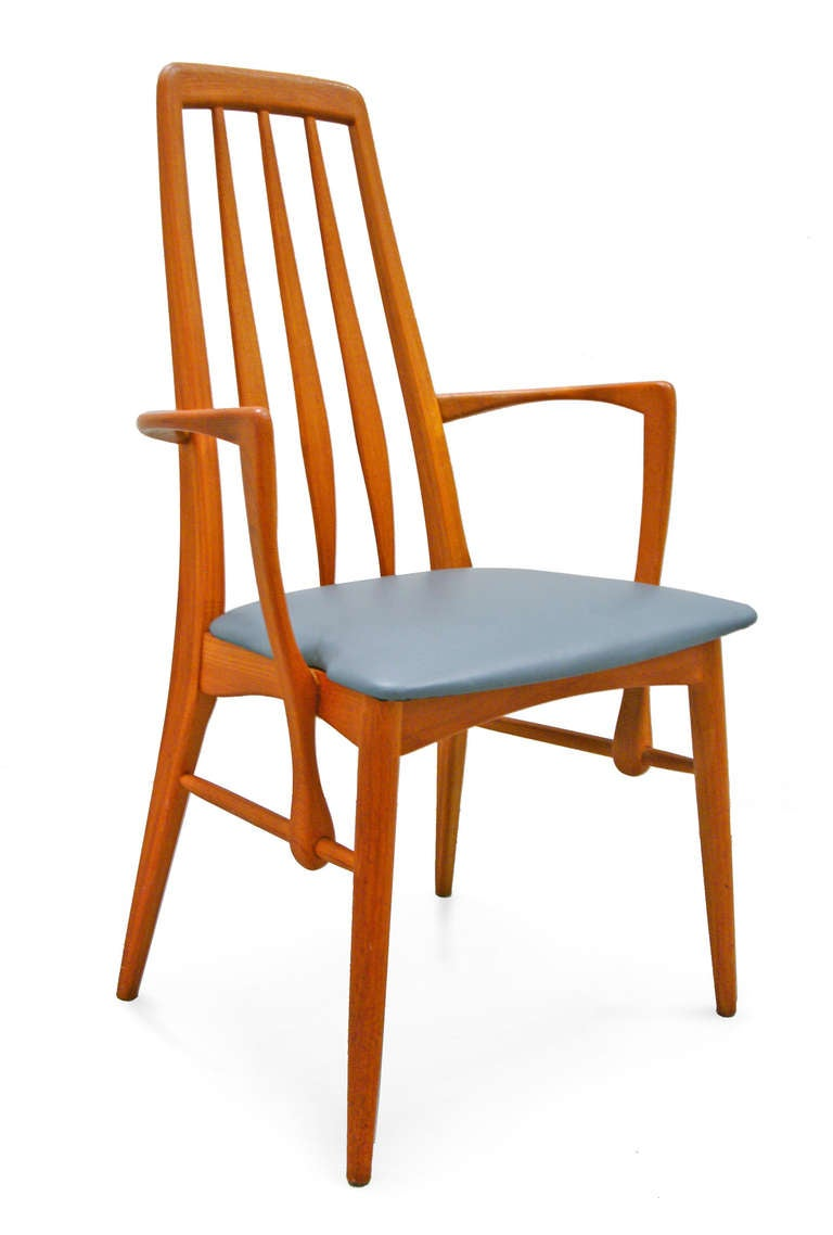 Set of 8 Dining Chairs by Niels Koefoed for Hornslet