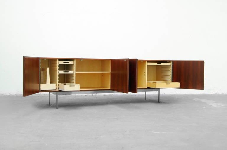 Sideboard by dieter waeckerlin for behr rosewood credenza for Sideboard 40er