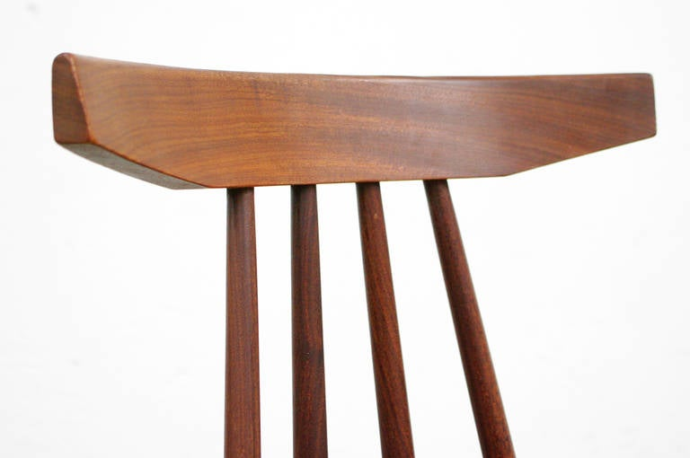 Teak Side Chair By Poul Volther Model 370 For Frem Rjle