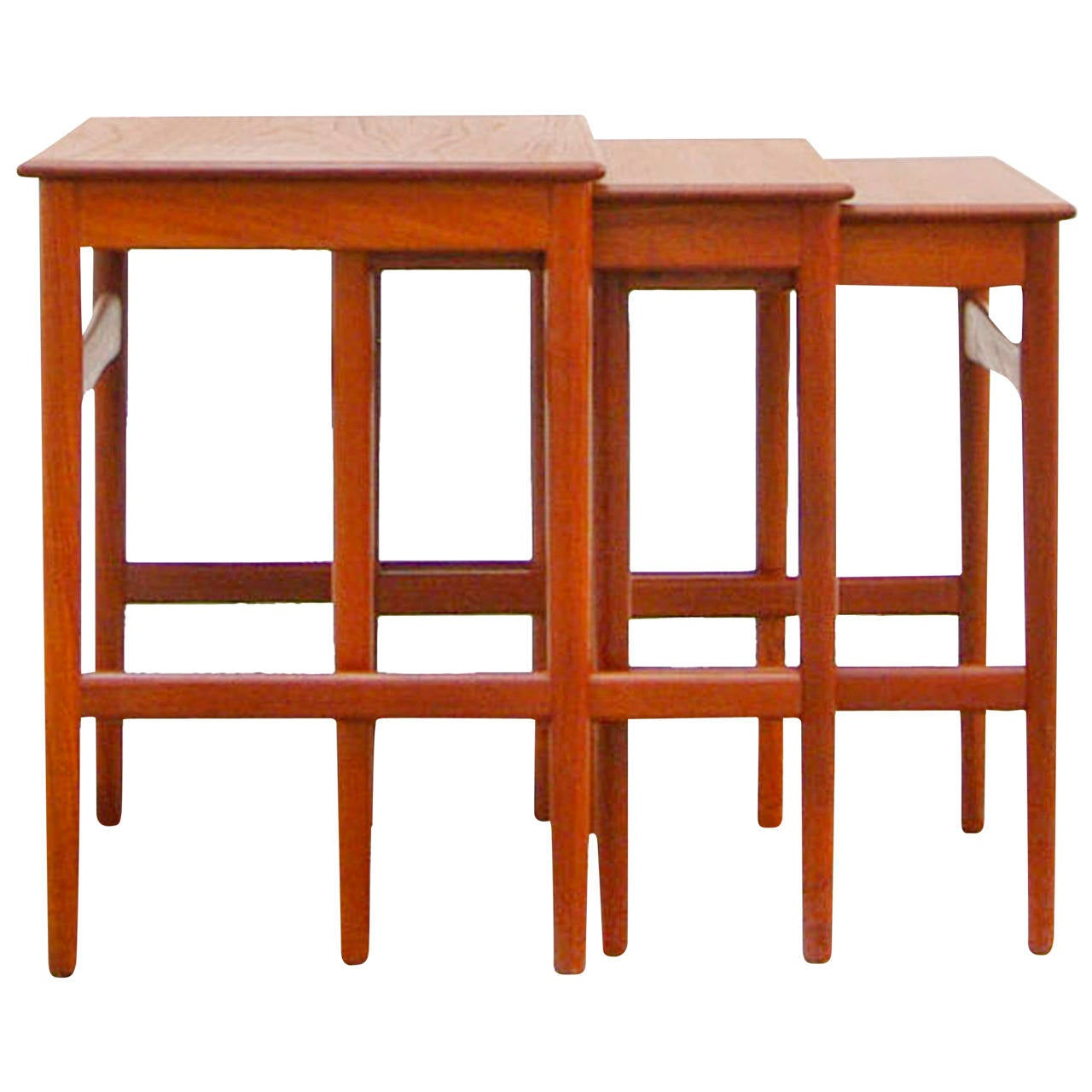 Nesting Tables By Hans Wegner For Andreas Tuck At40: andreas furniture