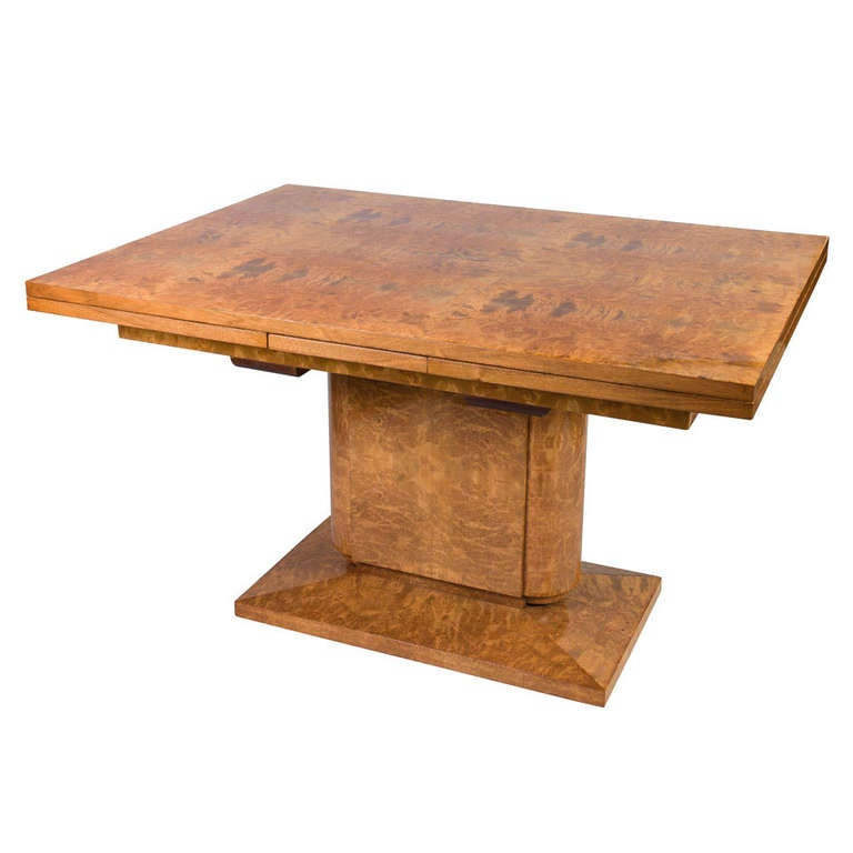 Art deco table at 1stdibs - Tisch oval weiay ...