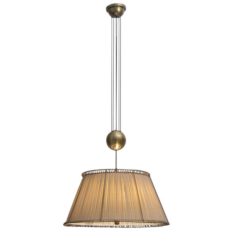 Functional pendulum lamp at 1stdibs for Pendulum light globes