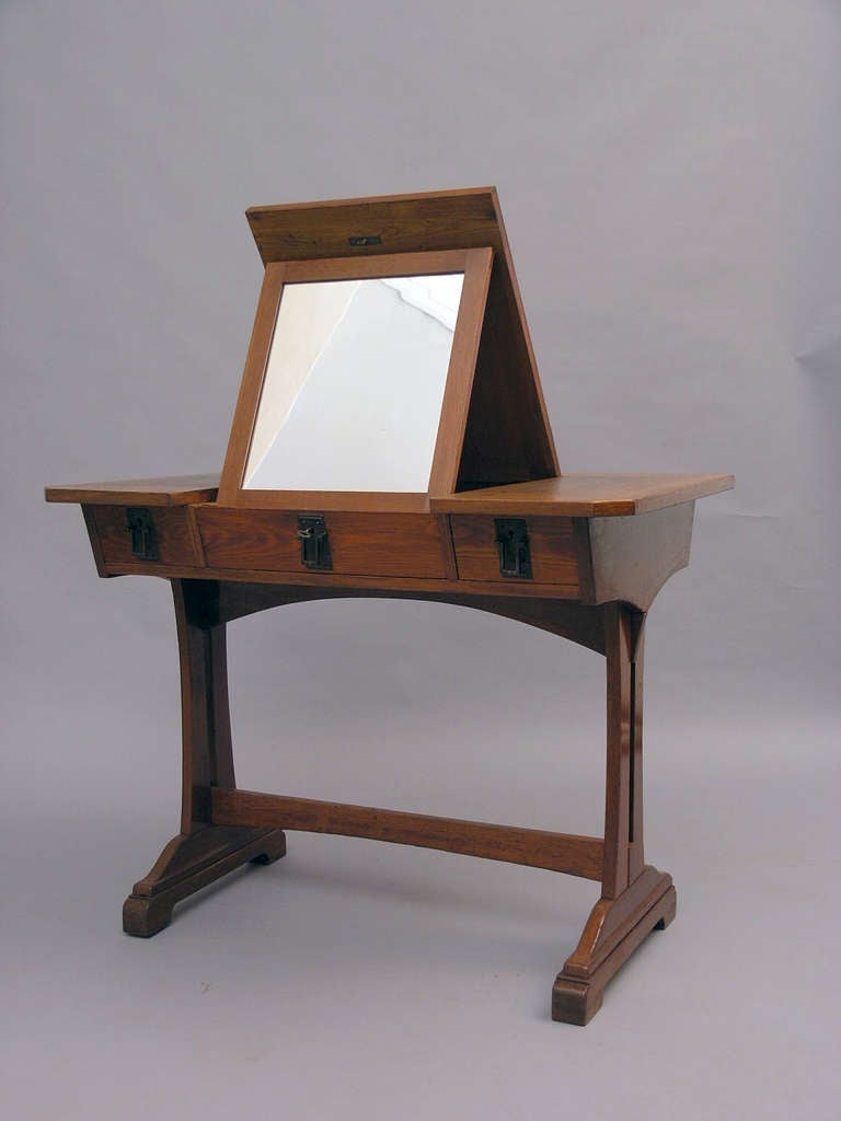 Multifunctional Dressing Table Vienna Dated 1910 At 1stdibs