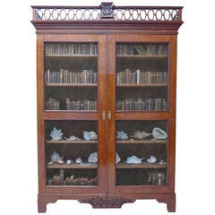 Fine and Impressive Late 18th Century Neoclassical Mahogany Library Bookcase