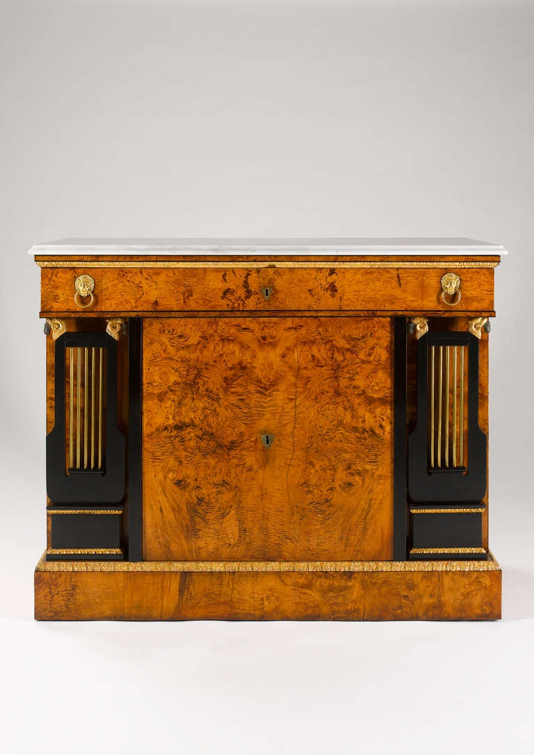 Viennese Early 19th Century Empire Commode 2