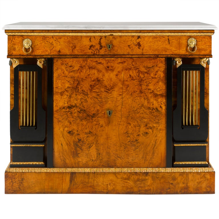 Viennese Early 19th Century Empire Commode