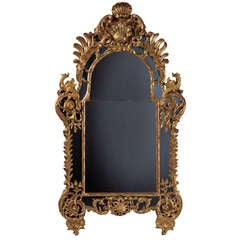 Large Early 18th Century Regence Wall Mirror