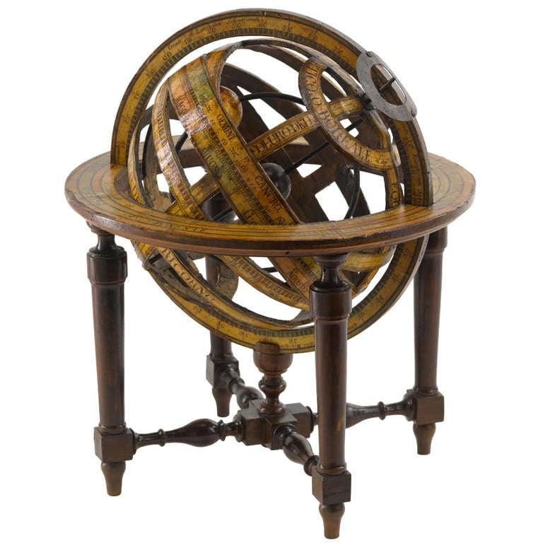 Italian Sofa Brent Cross: Italian Armillary Sphere At 1stdibs