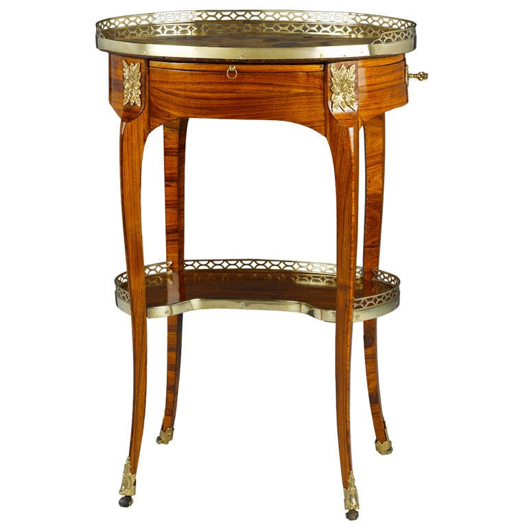 French Mid-18th Century Louis XV Guéridon
