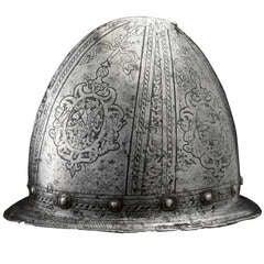 Italian Renaissance 16th C. Helmet