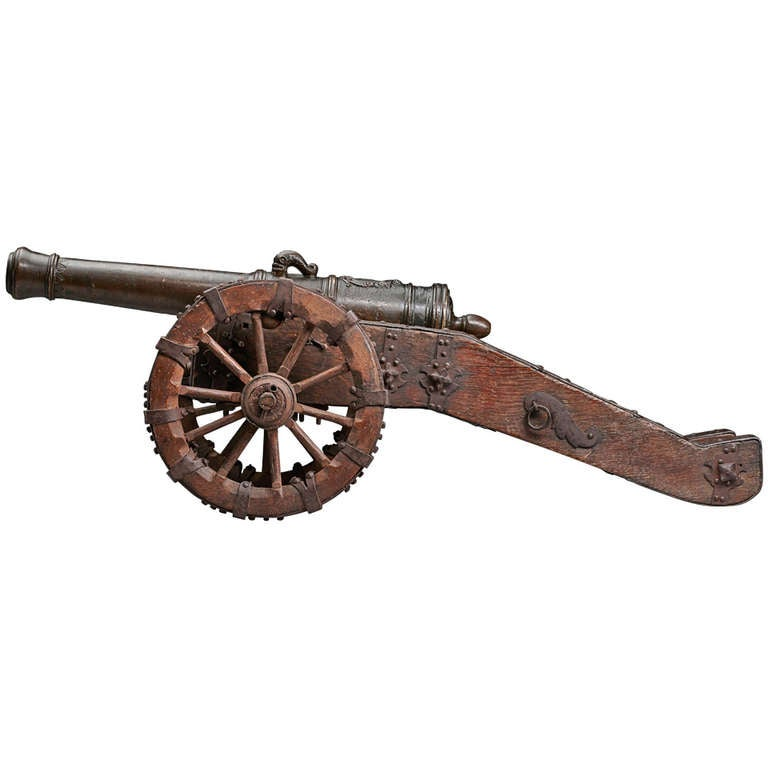 Model Cannon, Germany, 17th Century
