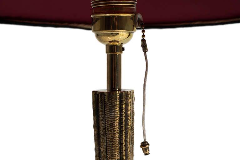 Austrian Table Lamp Werkstatte Hagenauer, Mid-1920s For Sale