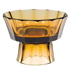 Josef Hoffmann Wiener Werkstatte Glass Centerpiece Documented