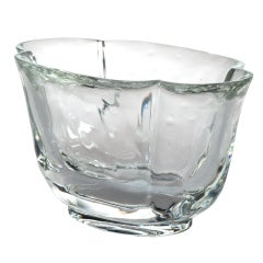 "Lobmeyr Bonbonniere Vienna Glass Series ""Mountaincrystal"", circa 1925"