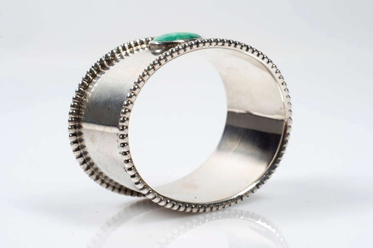 20th Century Josef Hoffmann Napkin Ring Executed by Sturm Vienna, circa 1915 For Sale