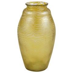 Exquisitely Shaped Large Loetz Vase, circa 1900