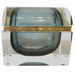 Monumental Mid-Century Murano Dresser Box