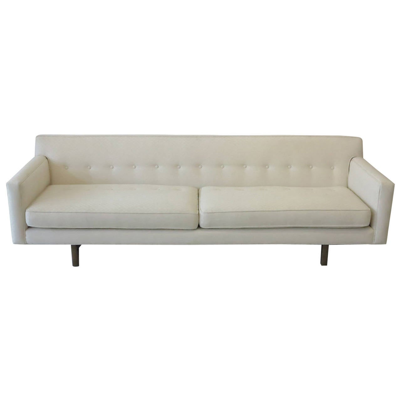 Dunbar Bracket Back Floating Sofa By Edward Wormley 1