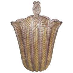 1950s Barovier & Toso Vase
