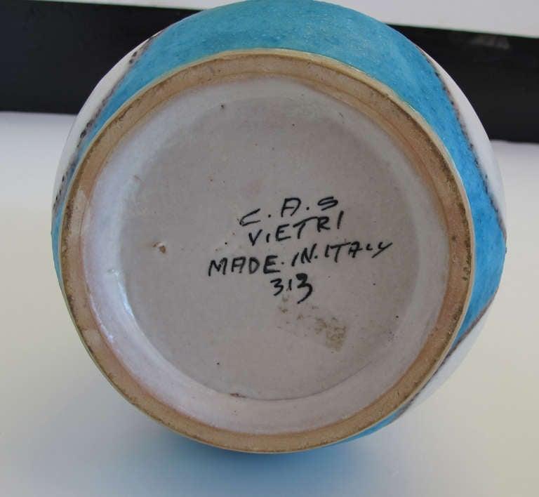 Guido Gambone CAS Figural Pottery Vase 4