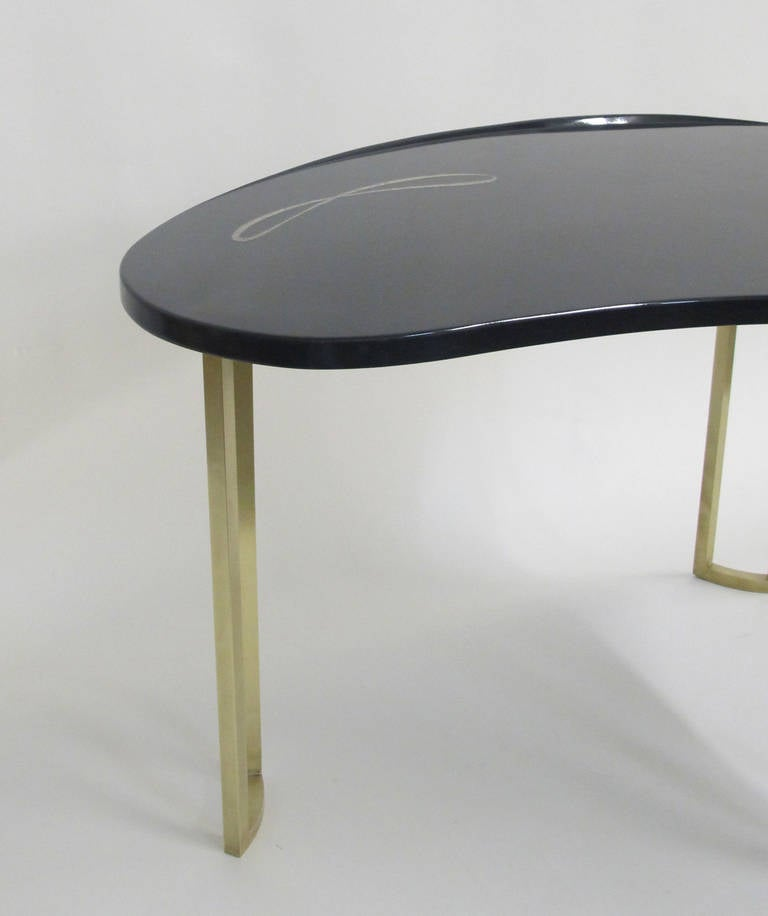 Style Of Gio Ponti Coffee Table At 1stdibs