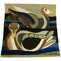 Helen Webber Embroidered Tapestry
