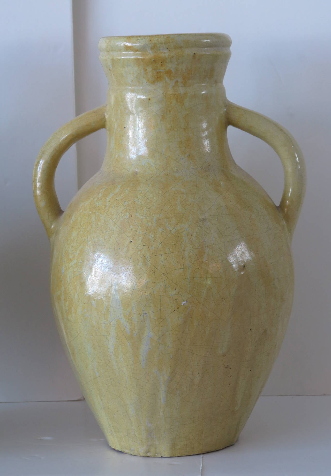 Addison Mizner Two Art Pottery Handled Jugs For Sale At