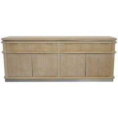 "Cerused Oak ""Eclipse"" Sideboard by Jay Spectre"