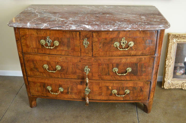 French Louis XIV Antique Commode For Sale