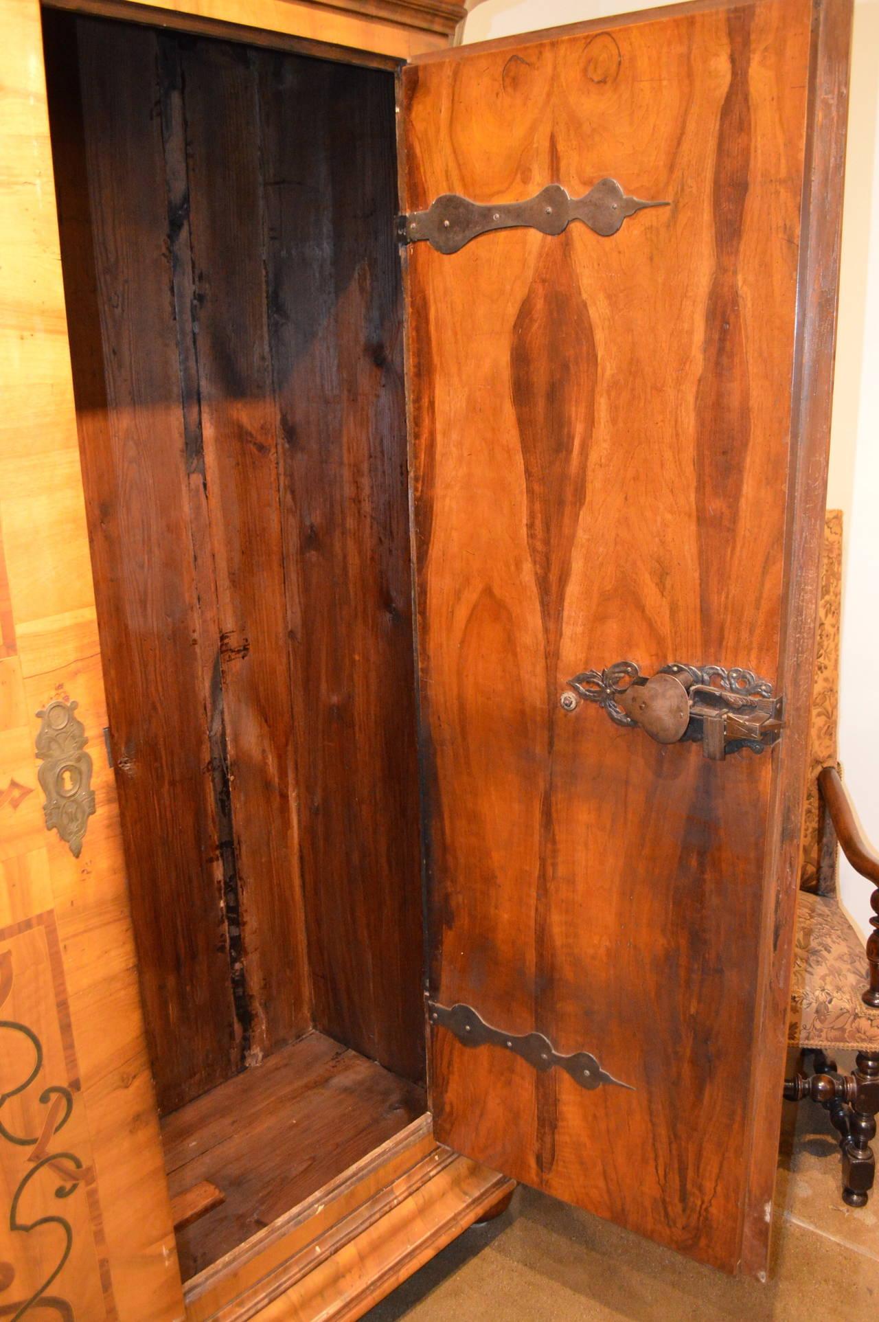 Austrian Cabinet Armoire In Excellent Condition For Sale In Los Angeles, CA