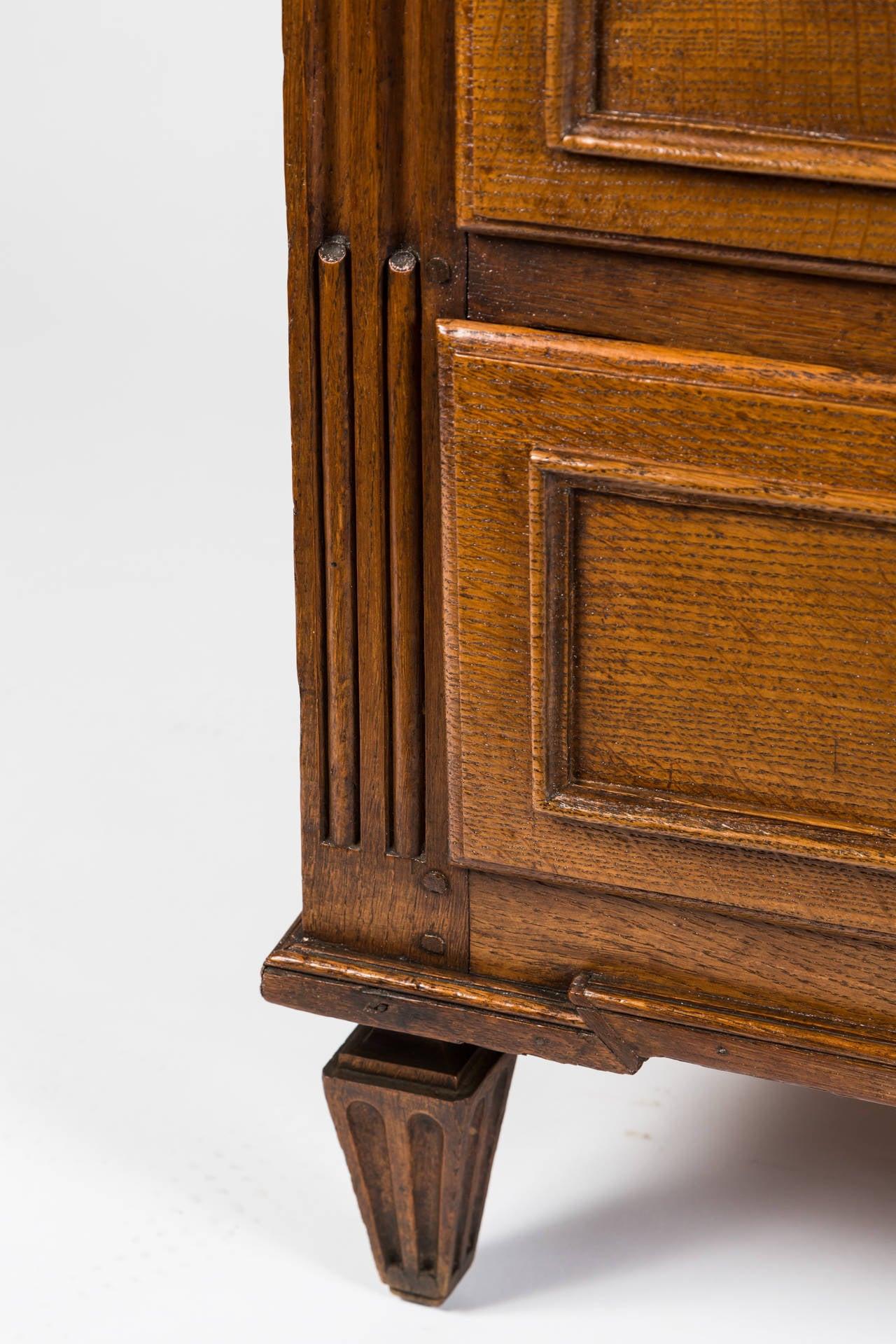 18th Century French Louis XVI Dresser in Solid Oak 7