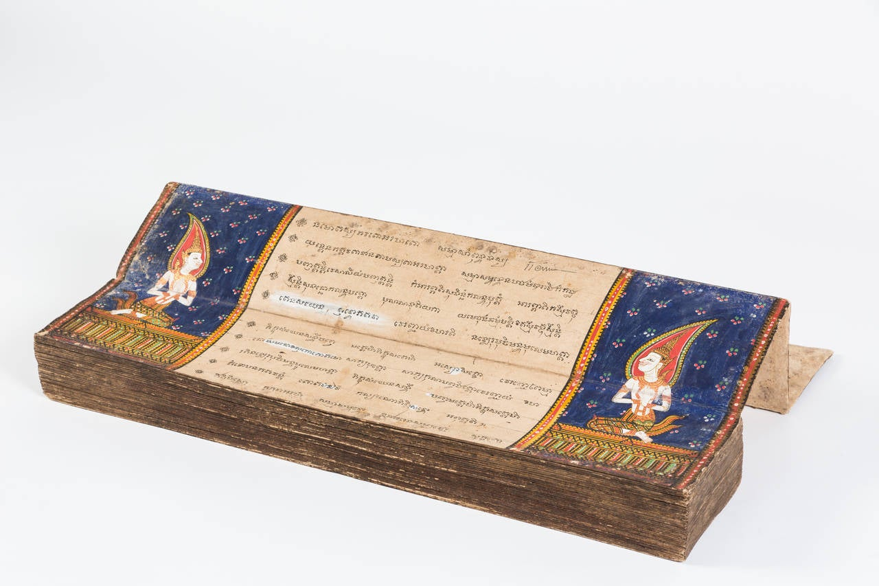 19th Century Thai Manuscript 2