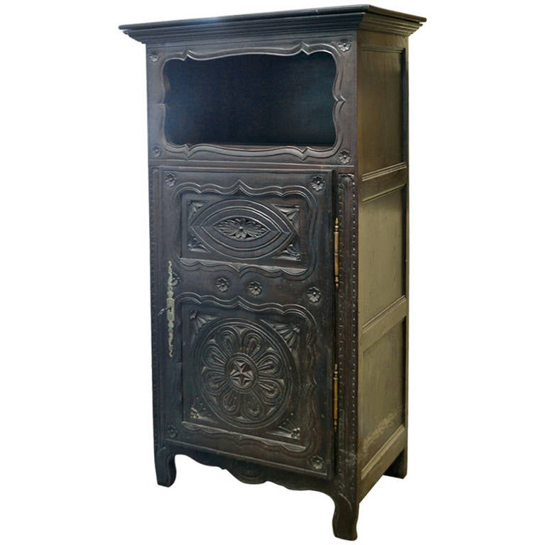 19th Century Antique French Cabinet For Sale