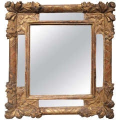 Gilded French Regency Mirror