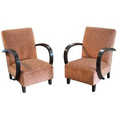 Pair of Period Art Deco Chairs