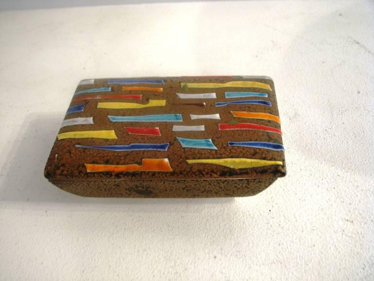 Raymor ceramic box.