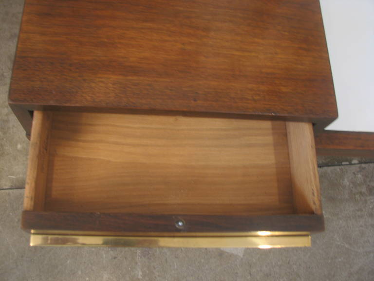 Mid-Century Coffee Table with White Laminate Top 4