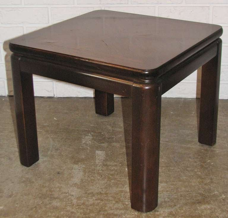 Lane Furn Co Rosewood Topped Side Table 2