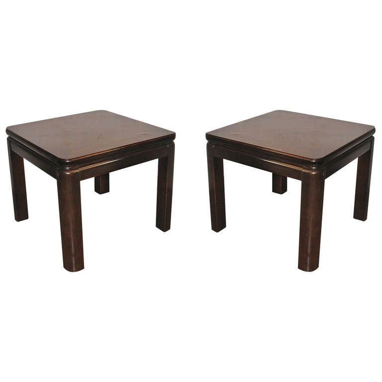 Lane Furn Co Rosewood Topped Side Table 1