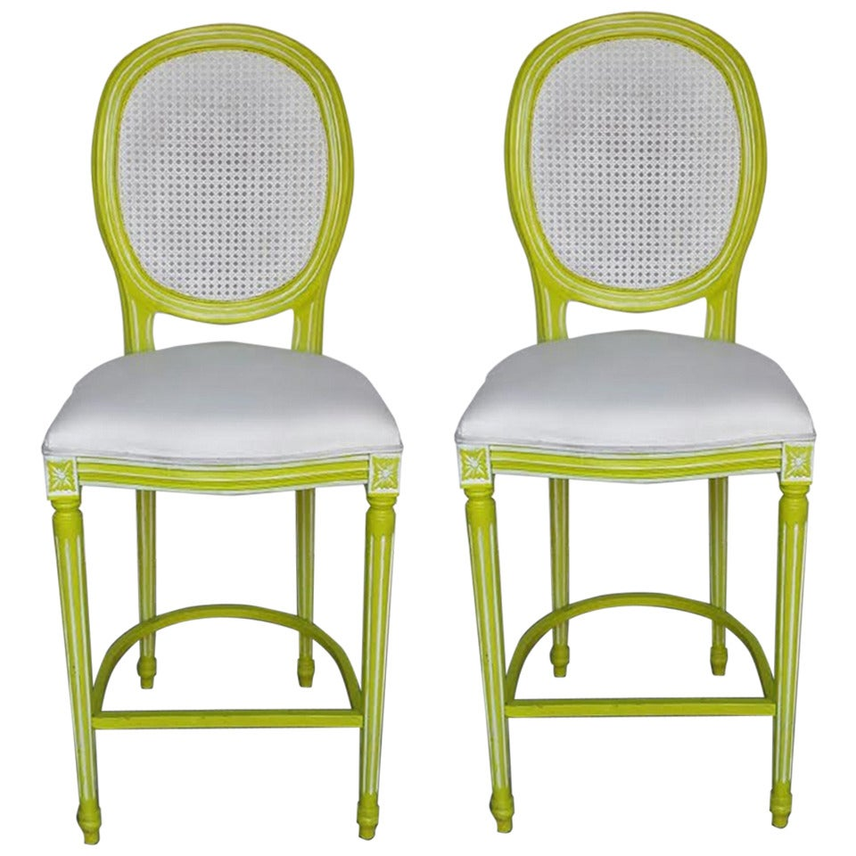 Bar Chairs Pair of French Louis XV Style Tall Bar Stool  : 1851332 1 from www.1stdibs.com size 960 x 960 jpeg 110kB