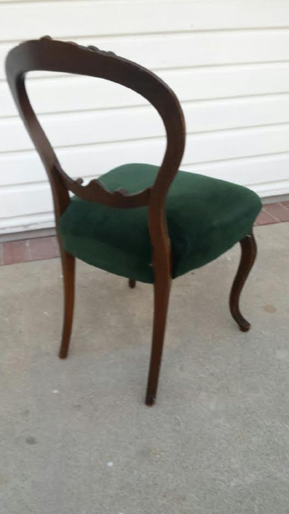 French Chair Louis XV Provincial Style Chair For Sale at