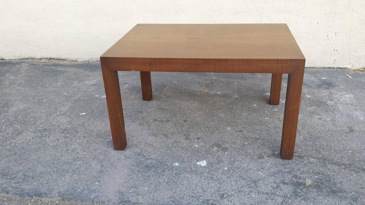 Mid century modern danish style sleek teak coffee table or cocktail table at 1stdibs Sleek coffee table