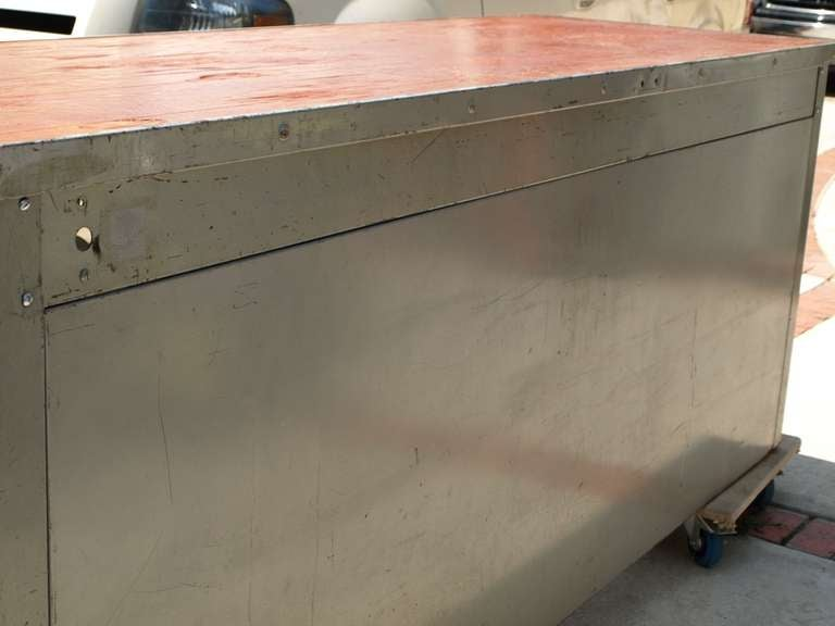 8ft Industrial Work Table by Pressweld image 4