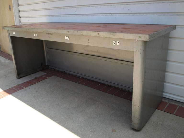 8ft Industrial Work Table by Pressweld image 3