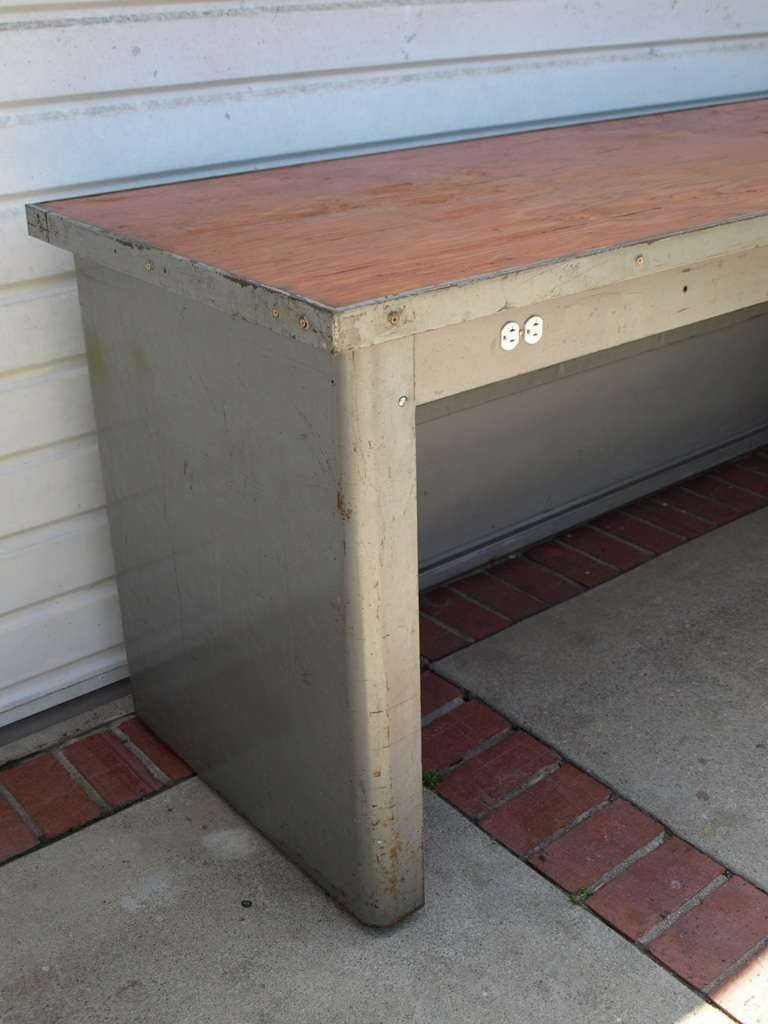 8ft Industrial Work Table by Pressweld image 6