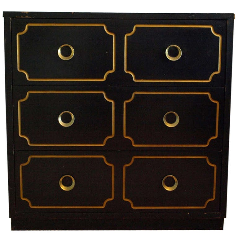 hollywood regency style chest attributed to dorothy draper at 1stdibs. Black Bedroom Furniture Sets. Home Design Ideas