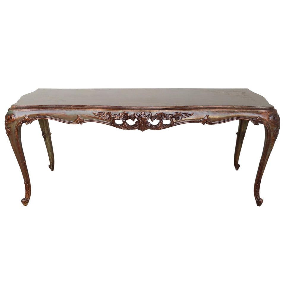 French louis xv style coffee table at 1stdibs Vogue coffee table
