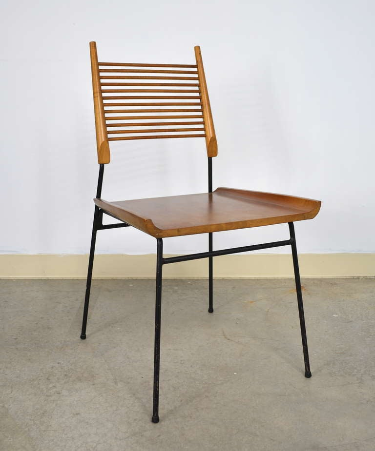 Paul McCobb Set of 6 Shovel Dining Chairs for Winchendon